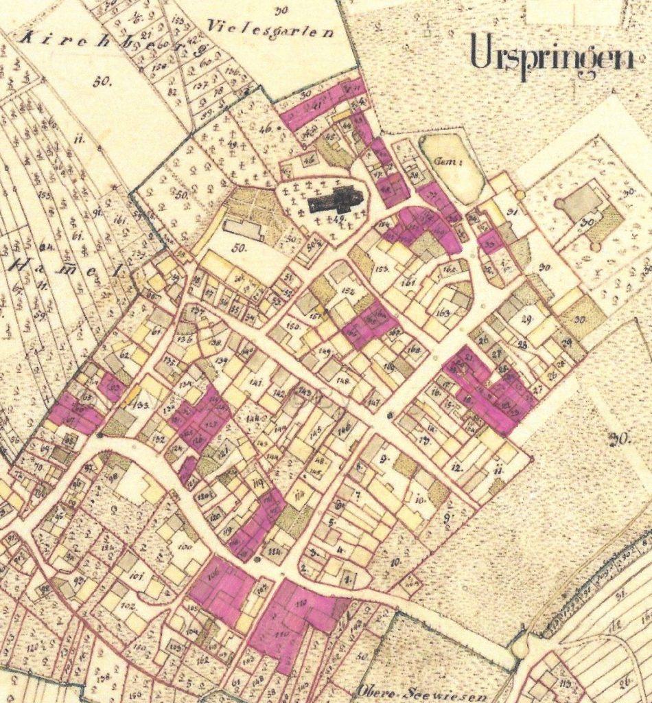 Jüdischer Besitz 1820-1850