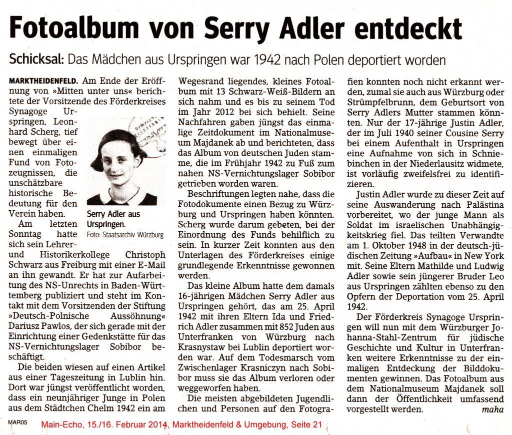 ME-Serry Adler